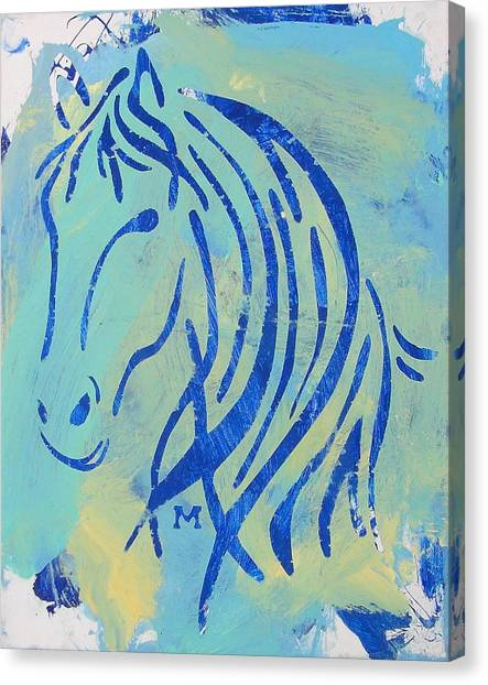 Canvas Print featuring the painting Faith by Candace Shrope