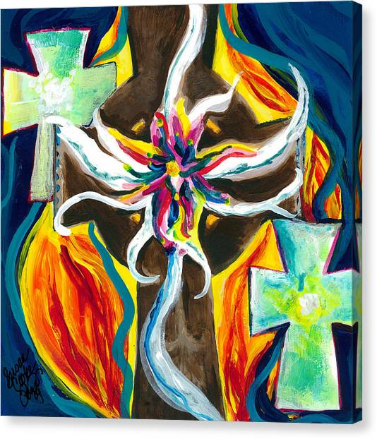 Faith Canvas Print by Susan Cooke Pena