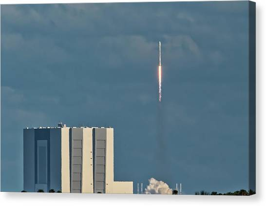Falcon 9 Launch Canvas Print