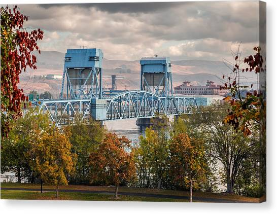 Fall 2015 Blue Bridge Canvas Print
