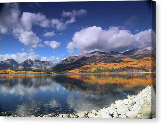 Fall At Twin Lakes Canvas Print