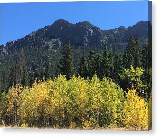 Canvas Print - Fall At Twin Sisters by Kristen Anna