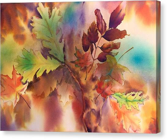 Fall Bouquet Canvas Print