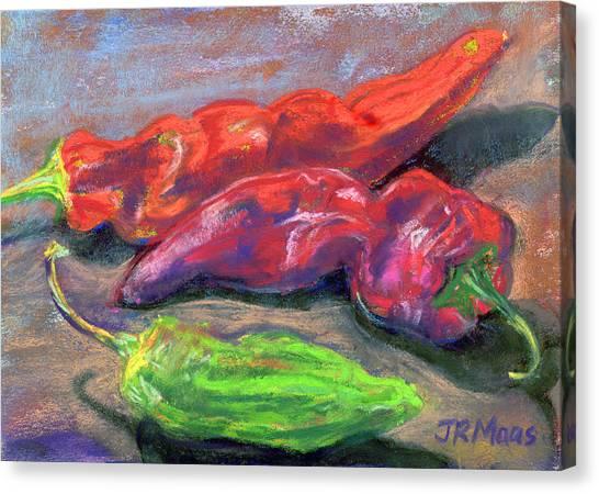 Fall Chiles Canvas Print
