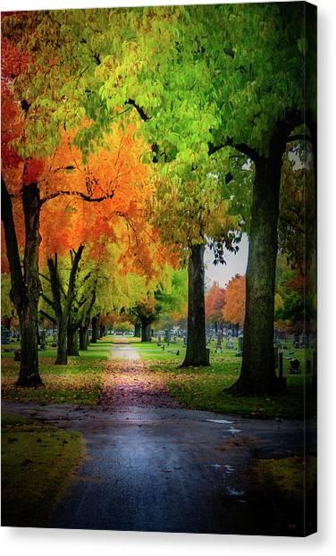 Fall Color Canvas Print