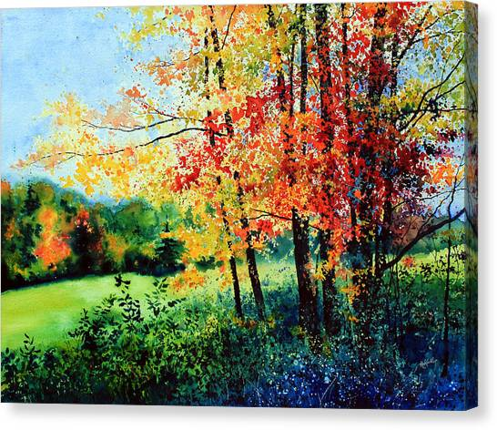 Quebec Canvas Print - Fall Color by Hanne Lore Koehler