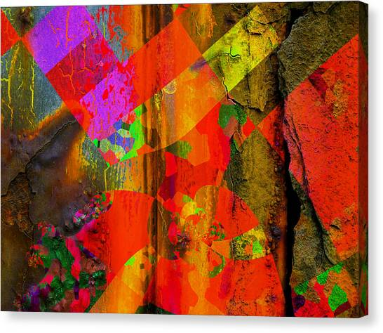 Contemporary Art Canvas Print - Fall  by Contemporary Art