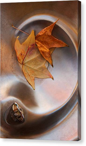 Fall Fountain Canvas Print