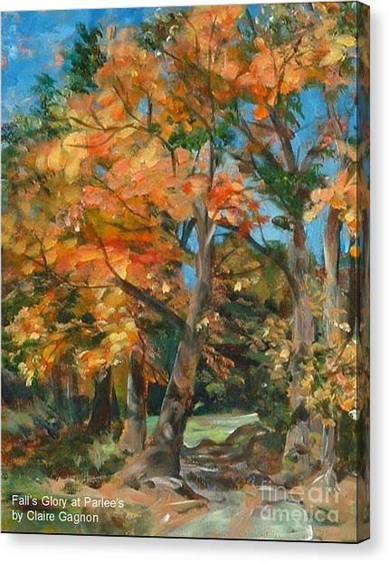 Fall Glory Canvas Print