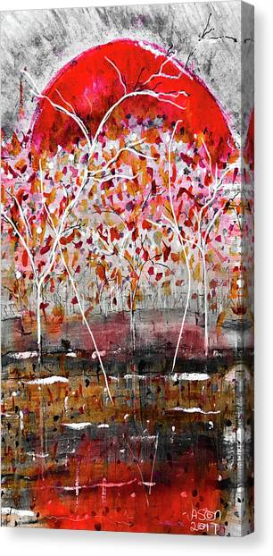 Fall-iage V2.0 Canvas Print