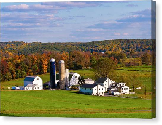 Fall In Amish Country Canvas Print