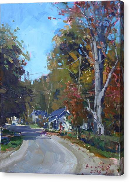 Ontario Canvas Print - Fall In Glen Williams On by Ylli Haruni