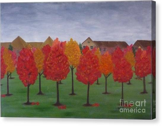 Fall In Markham Canvas Print