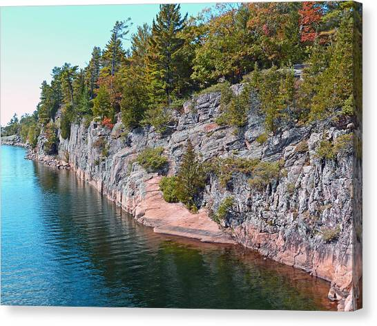Fall In Muskoka Canvas Print
