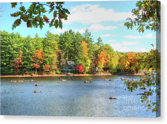 Fall In New England Canvas Print