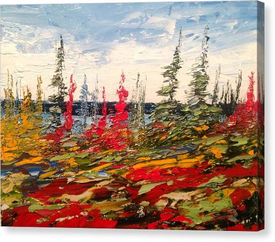 Fall In Oil No.1 Canvas Print
