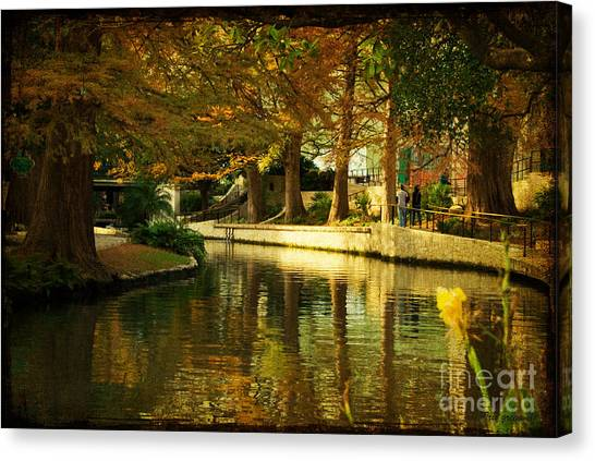 Fall In San Antonio Canvas Print