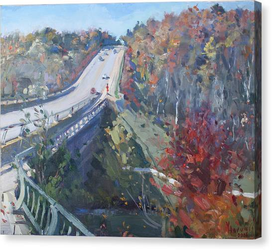 Georgetown University Canvas Print - Fall In Silver Creek Georgetown  by Ylli Haruni