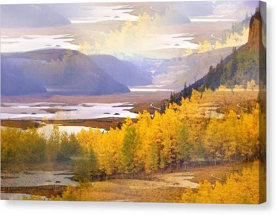 Fall In The Rockies Canvas Print