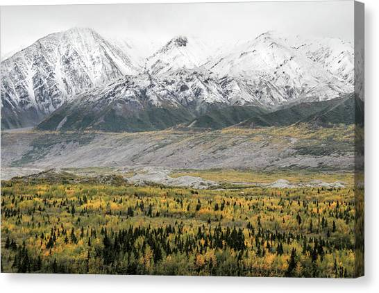 Fall In Wrangell - St. Elias Canvas Print