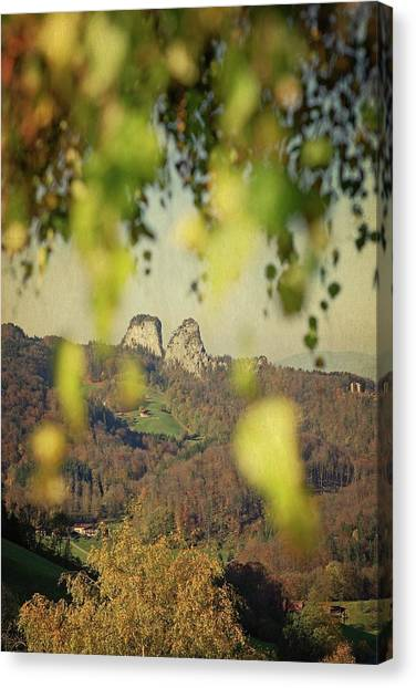Susann Serfezi Canvas Print - Fall-ing Leaves by AugenWerk Susann Serfezi