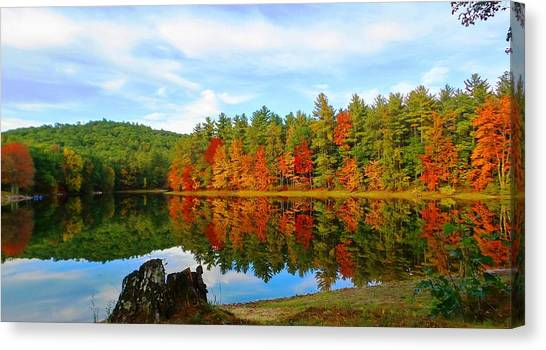 Fall Is Coming Canvas Print