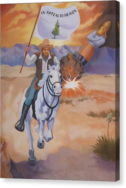 Fall Of Babylon Canvas Print