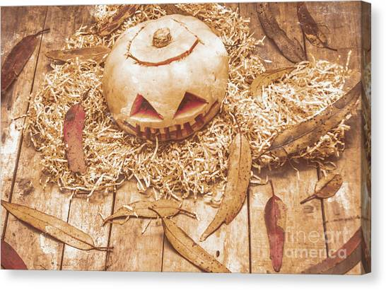 Pumpkins Canvas Print - Fall Of Halloween by Jorgo Photography - Wall Art Gallery