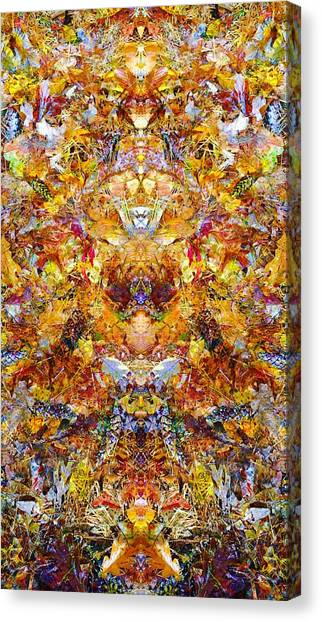 Fall Of The Leaf Gods  Canvas Print