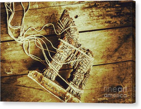 Turkey Canvas Print - Fall Of Troy by Jorgo Photography - Wall Art Gallery