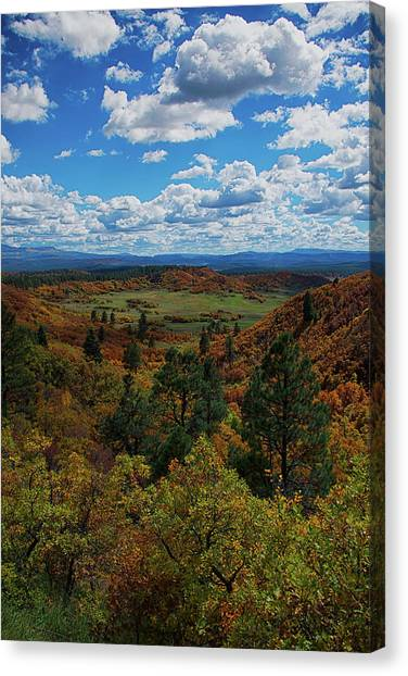 Fall On Four Mile Road Canvas Print