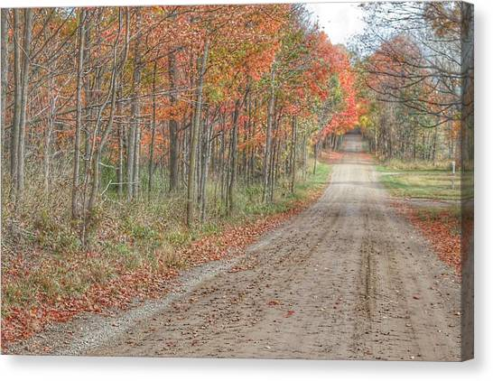 9018 - Fall On Murphy Lake Iv Canvas Print