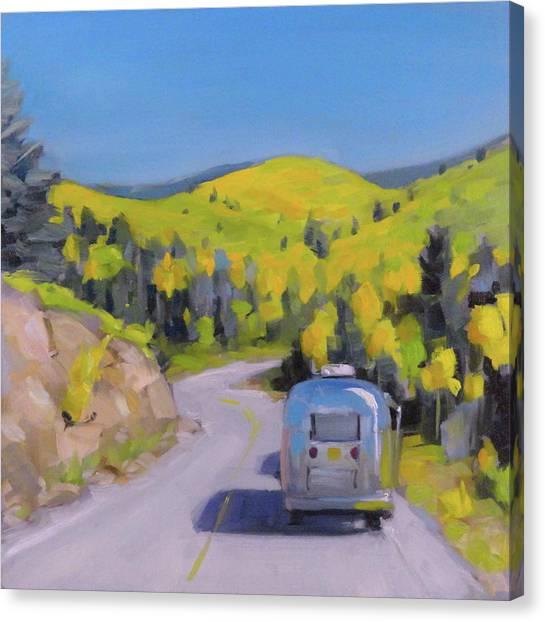Fall Road Trip Canvas Print