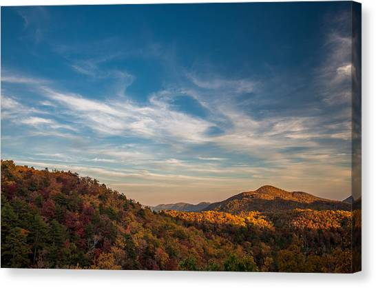 Fall Skies Canvas Print