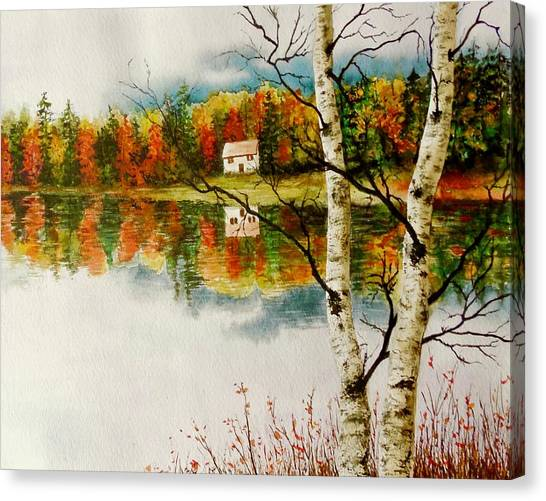Fall Splendour Canvas Print
