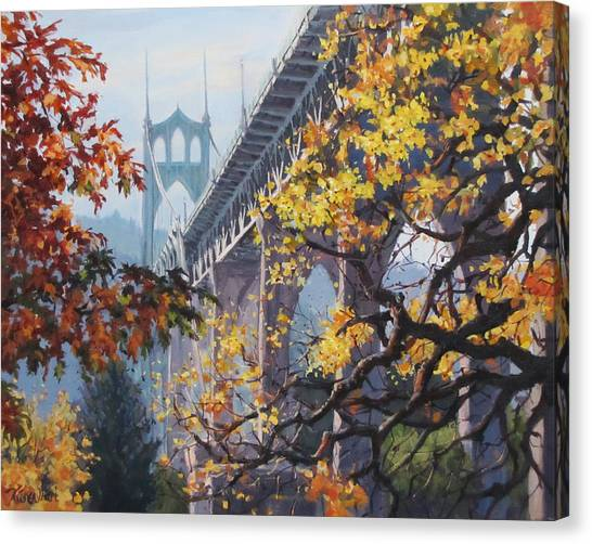 Fall St Johns Canvas Print
