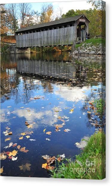 Fallasburg Covered Bridge 16 Canvas Print