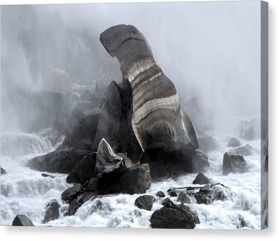 Rights Managed Images Canvas Print - Fallen Ice by David and Lynn Keller