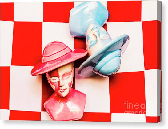 Chess King Canvas Print - Fallen King And Queen On Chess Board by Jorgo Photography - Wall Art Gallery