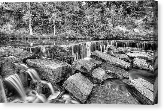 Falling Waters On Deep Creek Canvas Print by JC Findley