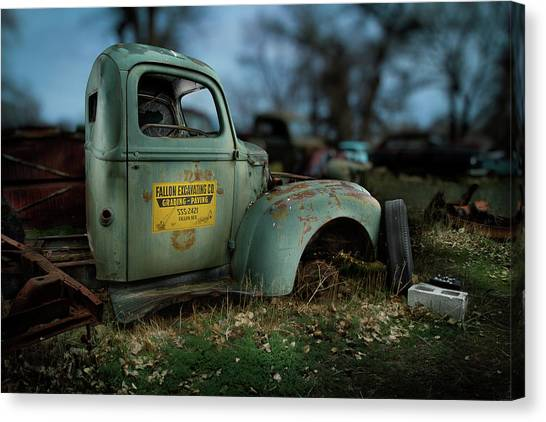 Fallon Excavating Co. Canvas Print