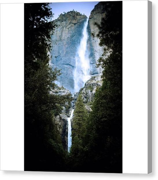 Scotty Canvas Print - Falls @ Yosemite #yosemite #photography by Scotty Brown