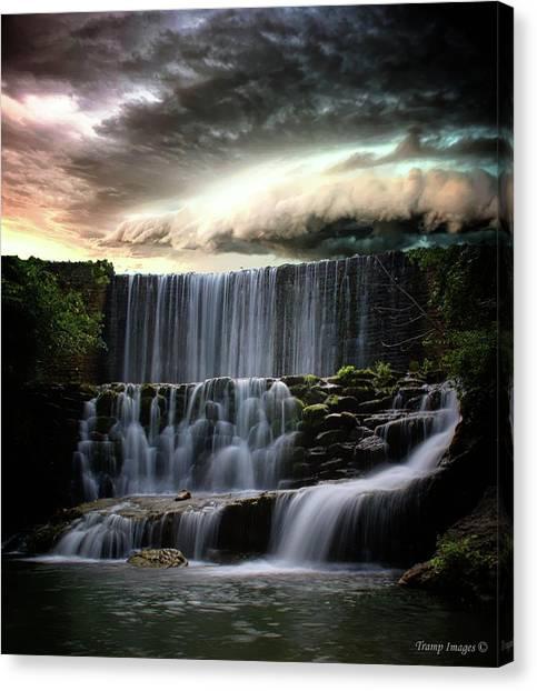 Falls At Mirror Lake Canvas Print