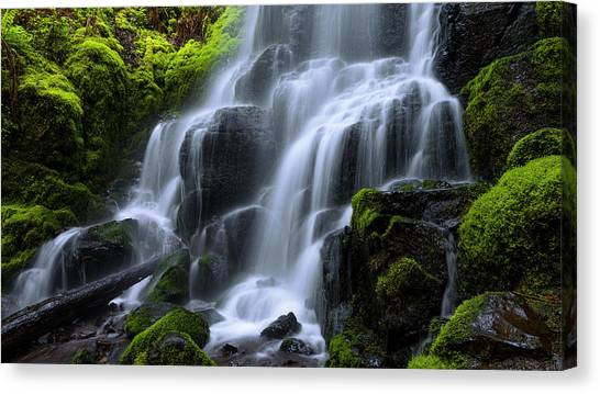 Fairy Canvas Print - Falls by Chad Dutson