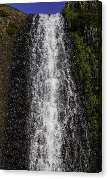 Table Mountain Canvas Print - Falls Close Up by Garry Gay