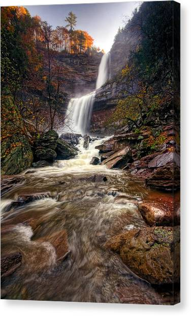 Falls Fury Canvas Print