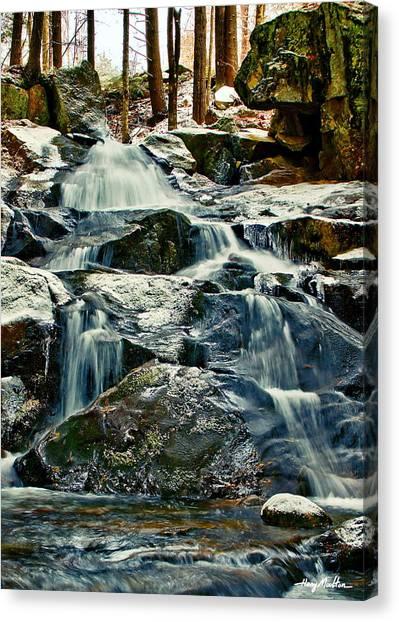 Falls Of Fogg Brook Canvas Print