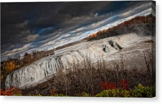 Falls Power Canvas Print