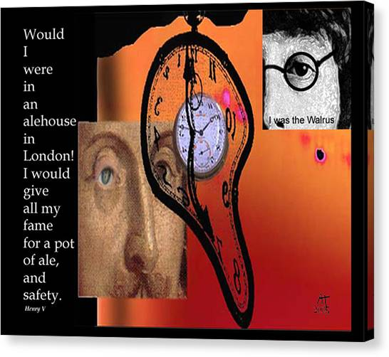 Fame And Fortune II Canvas Print