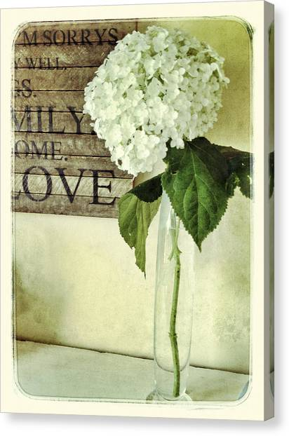 Family, Home, Love Canvas Print